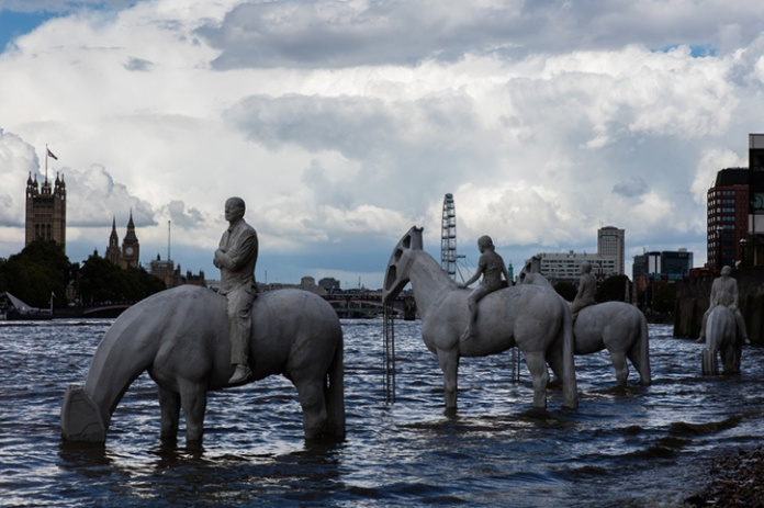 Four-Horsemen-of-the-Apocalypse-Jason-deCaires-Taylor_Sculpture.its-nice-that-