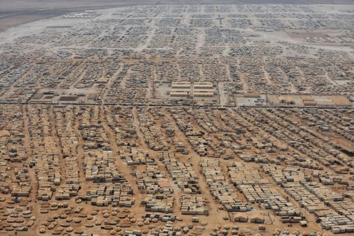CORRECTION-TOPSHOT-JORDAN-US-SYRIA-REFUGEES-KERRY