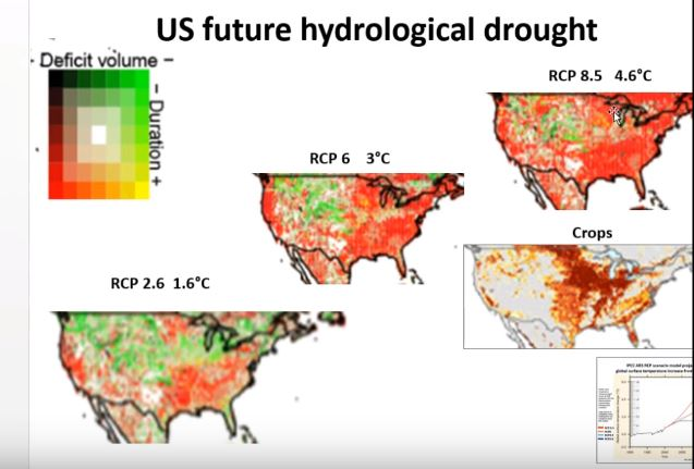 The US Food Emergency Lokis Revenge - Us crop map