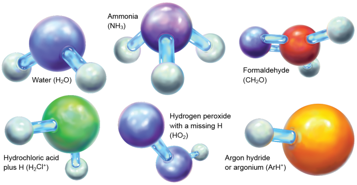 6 of 200 space molecules